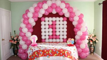 Birthday party organizer in delhi theme party event for Balloon decoration for birthday party