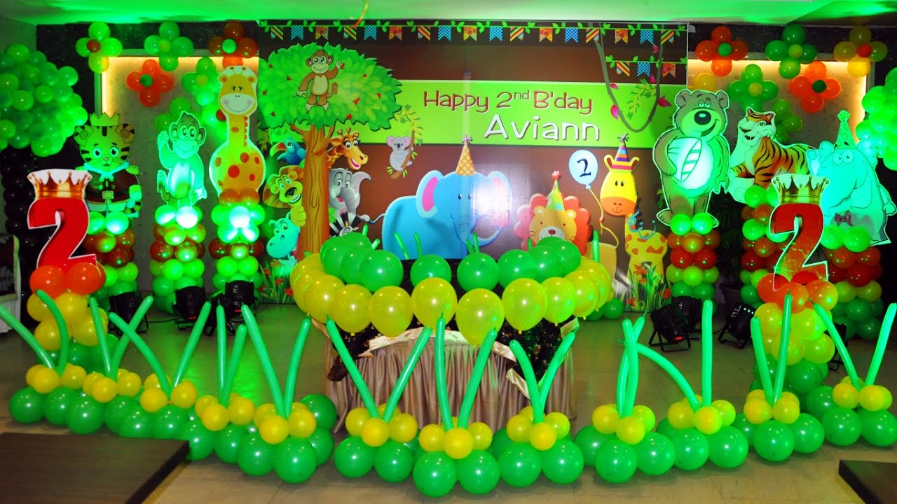 Birthday party organizer in delhi theme party event for Balloon decoration in noida