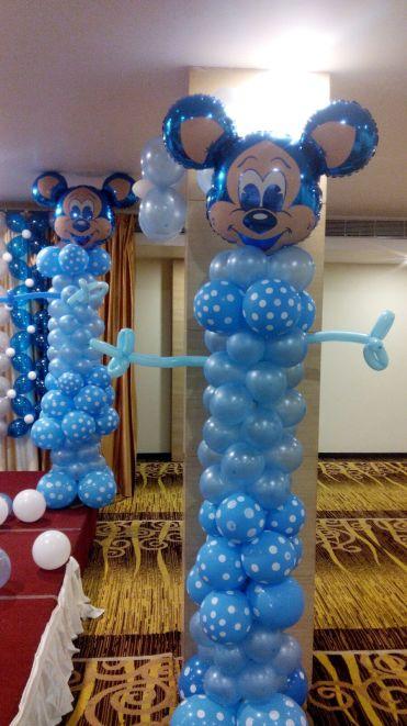 foil balloon table decoration, gold foil balloon decoration, foil balloon birthday decorations.