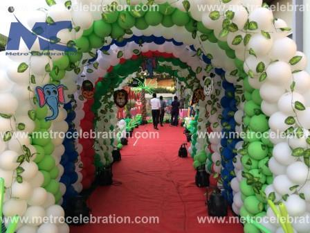 balloons the entrance, entrance decoration with balloons, balloons entrance decoration.