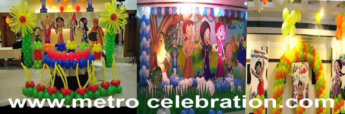 Best Chota Bheem Theme Party Decoration Delhi Noida Gurgaon