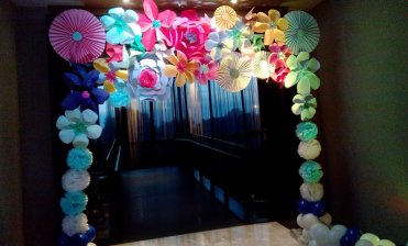decoration of school entrance, wedding entrance decoration, decoration ideas for school entrance.