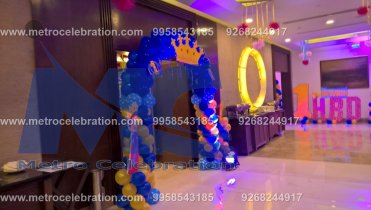 entrance ideas for a party, grand entrance for birthday party, castle entrance for princess party.
