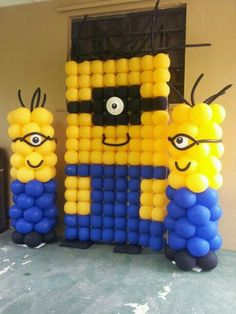 cake table decoration at home, cake table decorations for 50th anniversary, minion theme