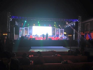 Stage-Trust setup  LED wall  in delhi ncr.