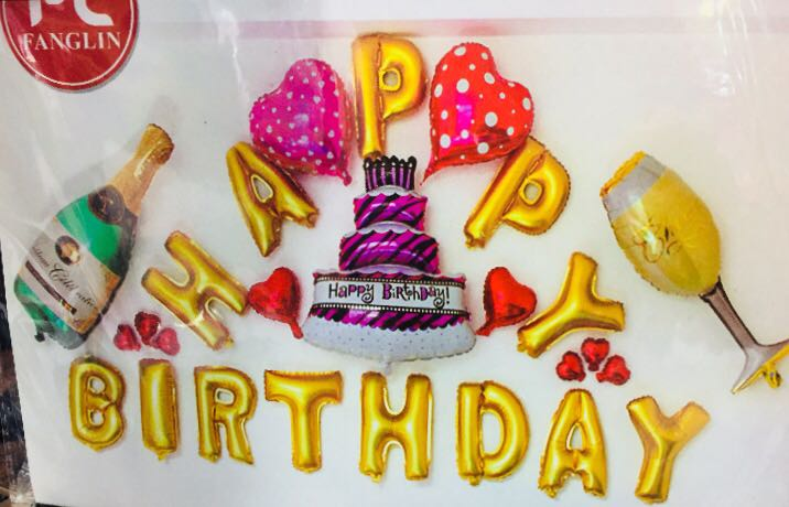 Happy birthday accessories