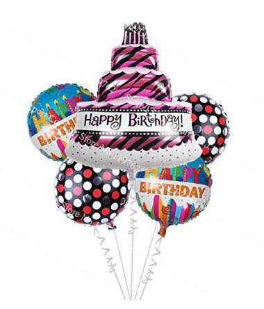 Foil balloons props ideas