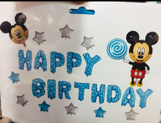 Mickey mouse for Happy birthday accessories
