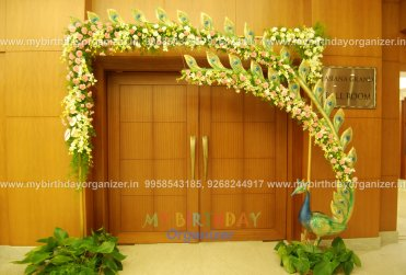 balloon and flower decorations for weddings,butterfly and flower decorations.