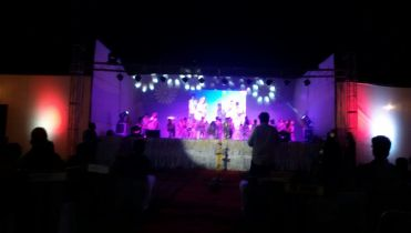 Stage-Trust setup with LED wall in delhi ncr, gurgaon.