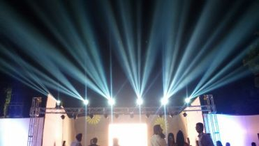Stage-Trust setup with LED in delhi ncr, gurgaon.