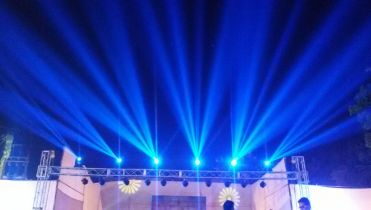 Stage-Trust setup with LED wall  in noida, delhi ncr, gurgaon, faridabad.