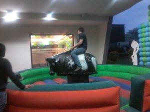 Bull Ride In Meerut