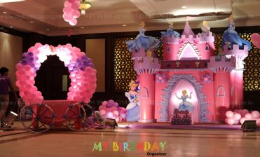 3d Theme Balloon Decoration For Birthday Party Delhi Noida