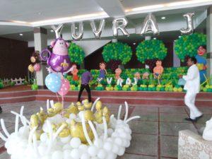 Chota Bheem Theme Party In Delhi