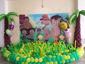 Chota Bheem Theme Party In Delhi